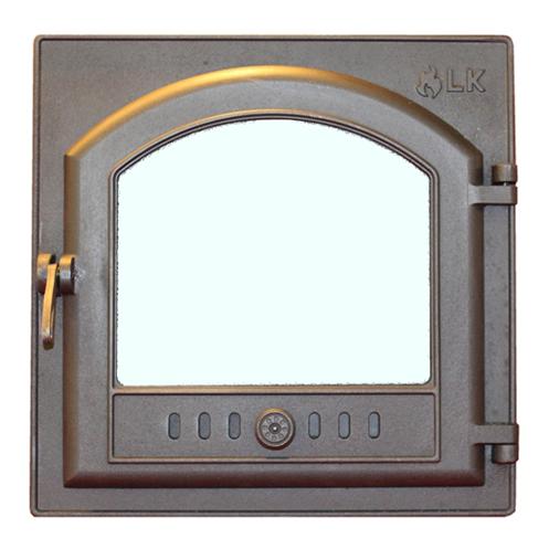 Дверца для печи со стеклом